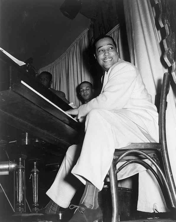 Duke Ellington at the Hurricane Club, 1943