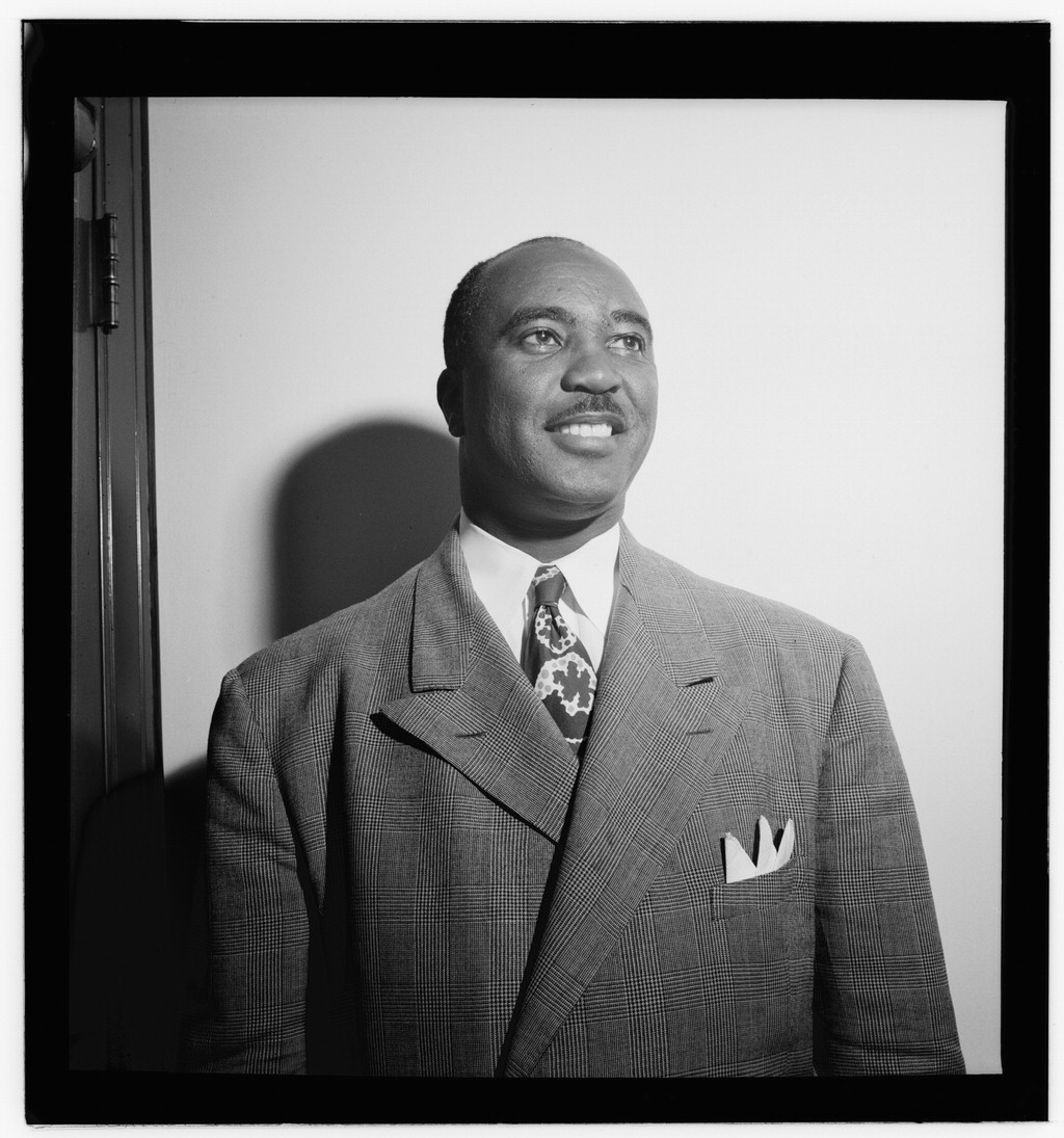 Portrait of Jimmie Lunceford, New York, N.Y.(?), ca. Aug. 1946)